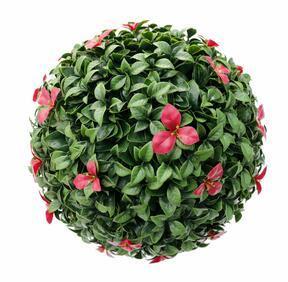 Gradenia keinotekoinen pallo punainen 45 cm