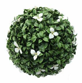 Gradenia keinotekoinen pallo valkoinen 45 cm