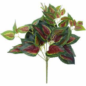 Keinotekoinen basilikan punainen 45 cm