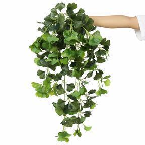 Keinotekoinen jänne Ginko vihreä 80 cm