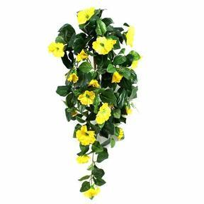 Keinotekoinen jänne Petunia keltainen 80 cm