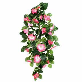 Keinotekoinen jänne Petunia pinkki 80 cm
