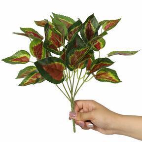Keinotekoinen kasvi Basilikanpunainen 25 cm