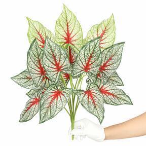 Keinotekoinen kasvi Calladium monivärinen 50 cm