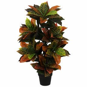 Keinotekoinen kasvi Crotone 100 cm