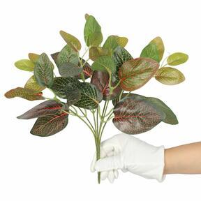 Keinotekoinen kasvi Fitonia punainen 25 cm