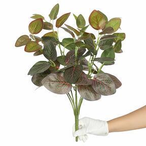 Keinotekoinen kasvi Fitonia punainen 45 cm