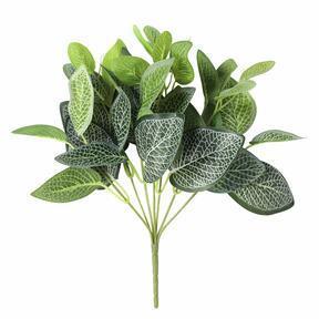 Keinotekoinen kasvi Fitónia valkoinen 25 cm