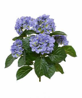 Keinotekoinen kasvi Hydrangea sininen 40 cm