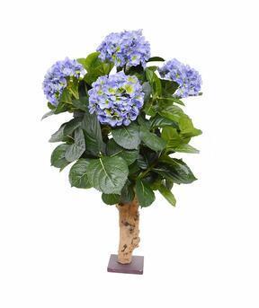 Keinotekoinen kasvi Hydrangea sininen 65 cm