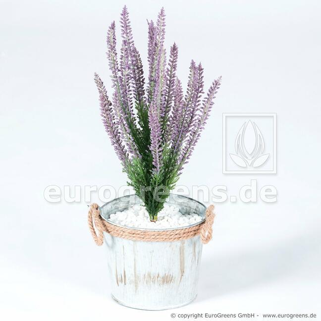Keinotekoinen kasvi Kanerva violetti 38 cm