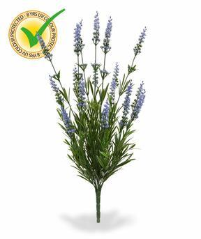 Keinotekoinen kasvi Laventelin sininen 50 cm