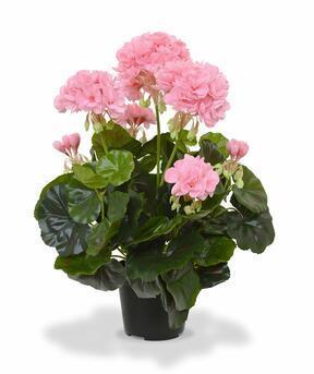 Keinotekoinen kasvi Pakost vaaleanpunainen 40 cm