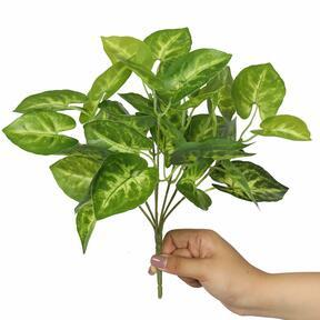 Keinotekoinen kasvi Taro Araceae 25 cm