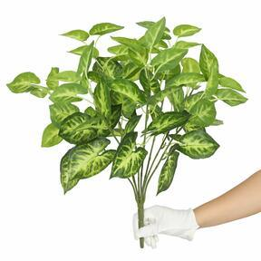 Keinotekoinen kasvi Taro Araceae 45 cm