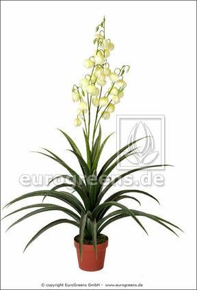 Keinotekoinen kasvi Yucca kaunis 125 cm