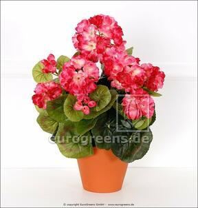 Keinotekoinen kimppu Geranium vaaleanpunainen 40 cm
