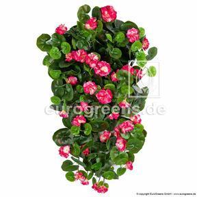 Keinotekoinen kurkku Geranium punainen 70 cm