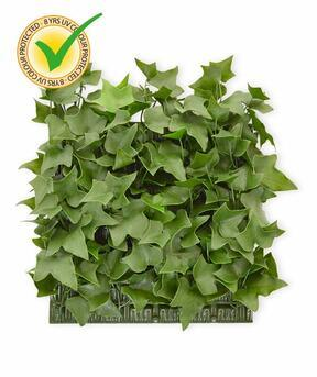 Keinotekoinen lehtilevy Ivy - 25x25cm
