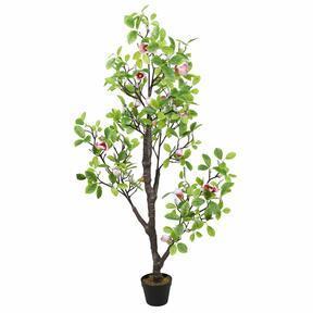 Keinotekoinen Magnolia vaaleanvihreä 150 cm