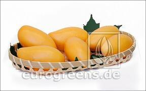 Keinotekoinen mango keltainen