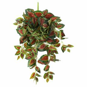Keinotekoinen nyrkki Basilikanpunainen 80 cm