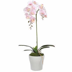 Keinotekoinen orkidea vaaleanpunainen 53 cm