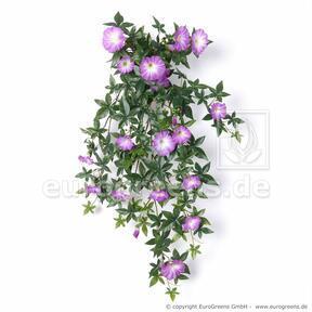 Keinotekoinen Petunia -kynsi violetti 75 cm