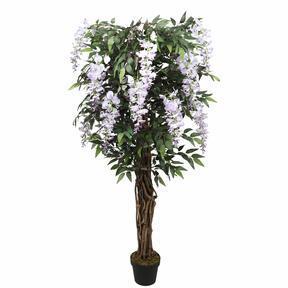Keinotekoinen puu Wisteria violetti 150 cm