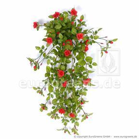 Keinotekoinen ruusunpunainen ruusunpunainen 85 cm