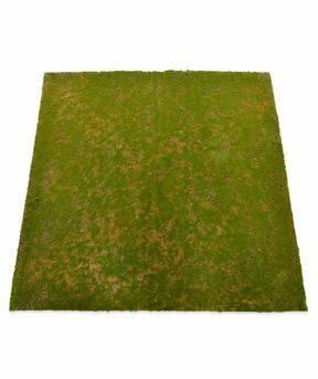 Keinotekoinen sammalmatto 100 x 100 cm - vihreä