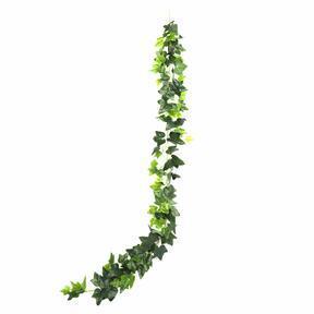 Keinotekoinen seppele Ivy vihreä 190 cm