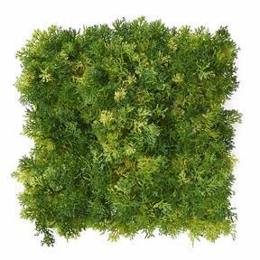 Keinotekoinen vaaleanvihreä sammalpaneeli - 25x25 cm