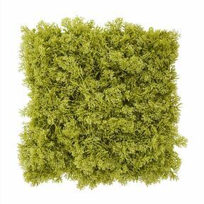 Keinotekoinen vihreä sammalpaneeli - 25x25 cm