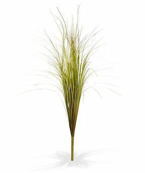 Keinotekoinen vihreänruskea uritettu nippu ruohoa 80 cm