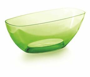 Kulho COUBI ORCHID vihreä läpinäkyvä 36,0 cm