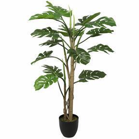 Monstera keinotekoinen kasvi 120 cm