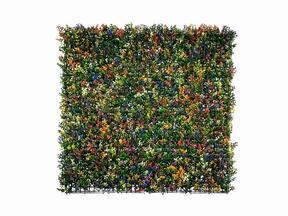 Tekokukkapaneeli Buxus monivärinen - 50x50 cm